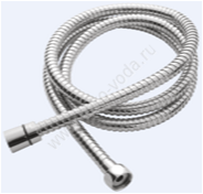 Душевой Шланг  ESKO, металл 1,6 м. Metal Shower Hose, арт. MSH16, Чехия